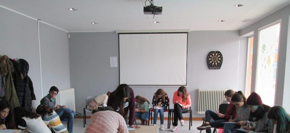Jornada de Mediación con un grupo de alumnas y alumnos  del IES Campos y Torozos de Medina de Rioseco