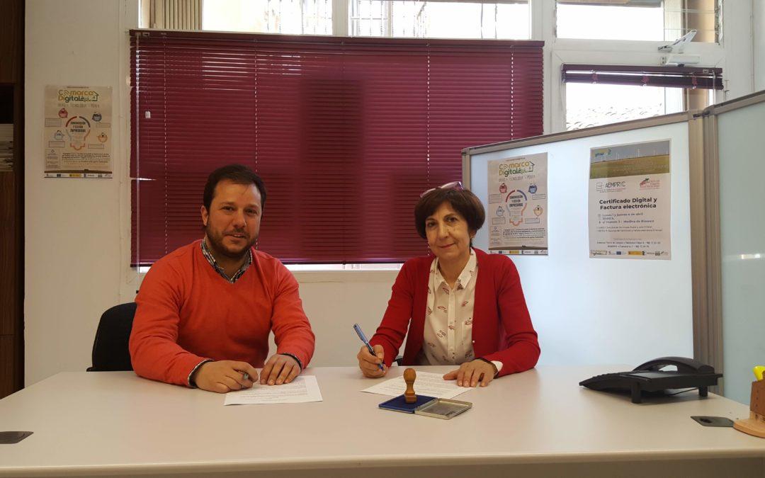 Firma de Convenio de colaboración del Colectivo Tierra de Campos y Aempryc