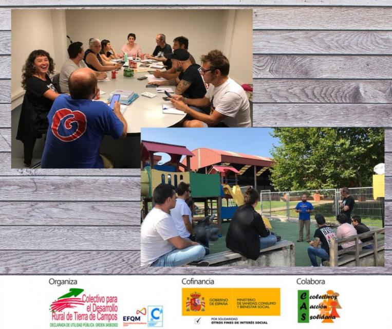 El Colectivo Tierra de Campos conoce experiencias de participación infantil en Asturias